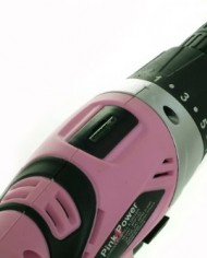 Pink-Power-PP182-18V-Cordless-Drill-Kit-for-Women-with-2-Batteries-Case-Charger-and-Bit-Set-0-7
