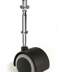 Slipstick-CB681-Floor-Protecting-Rubber-Caster-Wheels-with-Optional-516-Stem-or-Plate-Mounting-Pack-of-4-2-BlackGrey-0-1