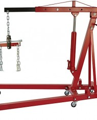 Strongway-Hydraulic-Engine-Hoist-with-Load-Leveler-2-Ton-Capacity-1in-82-58in-Lift-Range-0-3
