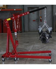 Strongway-Hydraulic-Engine-Hoist-with-Load-Leveler-2-Ton-Capacity-1in-82-58in-Lift-Range-0-5