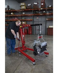 Strongway-Hydraulic-Engine-Hoist-with-Load-Leveler-2-Ton-Capacity-1in-82-58in-Lift-Range-0-6