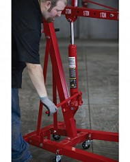 Strongway-Hydraulic-Engine-Hoist-with-Load-Leveler-2-Ton-Capacity-1in-82-58in-Lift-Range-0-7