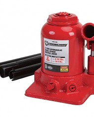 Strongway-Hydraulic-High-Lift-Double-Ram-Bottle-Jack-2-Ton-Capacity-5-1516in-14-12in-Lift-Range-0