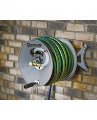 Strongway-Parallel-or-Perpendicular-Wall-Mount-Garden-Hose-Reel-Holds-150ft-x-58in-Hose-0-4