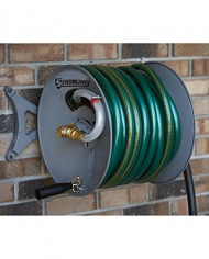 Strongway-Parallel-or-Perpendicular-Wall-Mount-Garden-Hose-Reel-Holds-150ft-x-58in-Hose-0-6