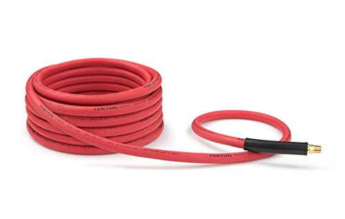 TEKTON-46335-38-Inch-ID-by-25-Feet-250-PSI-Rubber-Air-Hose-with-14-Inch-MPT-Ends-and-Bend-Restrictors-0