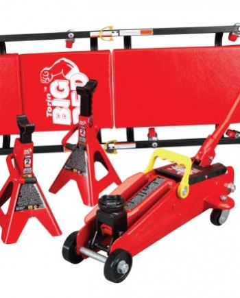 Torin-T82040-Trolley-Jack-with-Jack-Stand-and-Creeper-0