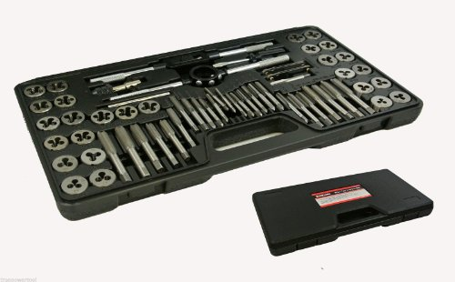 TruePower-02-0554-Alloy-Steel-SAEMetric-Tap-and-Die-Set-60-Piece-0