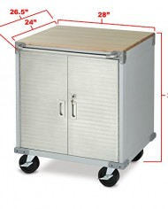 Ultra-Heavy-Duty-Stainless-Steel-Rolling-Garage-Storage-Cabinet-0-0