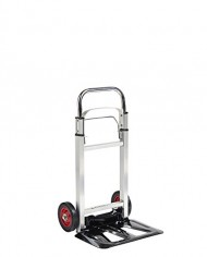 VonHaus-Folding-Hand-TruckDolly-with-200lb-Loading-Capacity-Telescopic-Handle-Aluminum-Frame-0-0