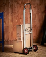 VonHaus-Folding-Hand-TruckDolly-with-200lb-Loading-Capacity-Telescopic-Handle-Aluminum-Frame-0-2