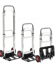 VonHaus-Folding-Hand-TruckDolly-with-200lb-Loading-Capacity-Telescopic-Handle-Aluminum-Frame-0-3