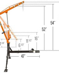 Apex-Hydraulic-Hitch-Mount-Pickup-Truck-1000-lb-Jib-Crane-0-4