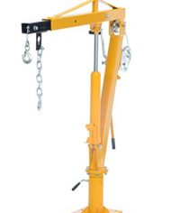 Vestil-WTJ-4-Painted-Steel-Winch-Truck-Jib-Crane-1000-lb-Extended-Capacity-Extended-Usable-Reach-46-Extended-Maximum-Hook-Height-77-12-Yellow-0-0