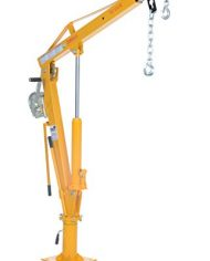 Vestil-WTJ-4-Painted-Steel-Winch-Truck-Jib-Crane-1000-lb-Extended-Capacity-Extended-Usable-Reach-46-Extended-Maximum-Hook-Height-77-12-Yellow-0-2